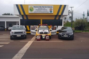 PRE de Cruzeiro do Oeste apreende droga 'especial' na PR-323