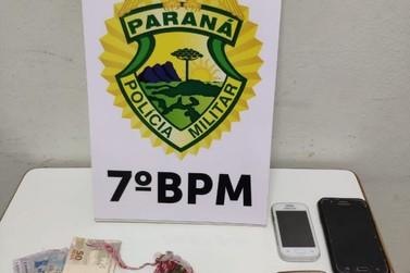 Quatro pessoas foram encaminhadas por suspeita de tráfico de drogas em Cruzeiro