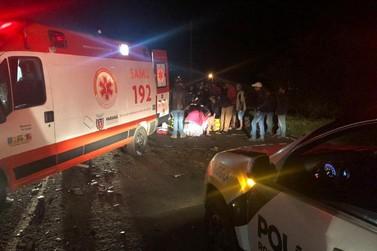 Acidente na PR-323, em Cruzeiro do Oeste deixa 1 morto e 4 pessoas feridas