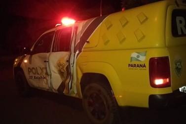 Adolescentes ficam em estado grave após colisão com viatura da PM em Altônia