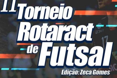 TORNEIO DE FUTSAL ACONTECE NESSE FINAL DE SEMANA