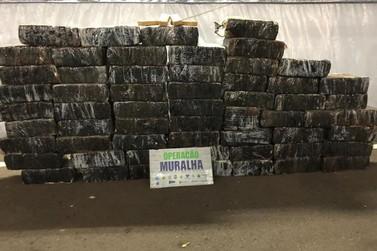 BPFron apreende 924 kg de maconha e prende dois suspeitos em Guaíra