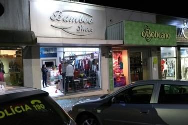 Loja Bambooshoes em Cruzeiro do Oeste é roubada na madrugada de quarta-feira
