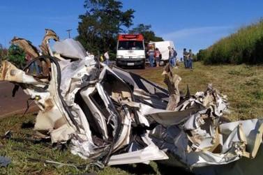 Motorista fica em estado grave após acidente entre Palotina e Francisco Alves