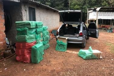 Presas 5 pessoas em Umuarama durante ação para combater contrabando de cigarros