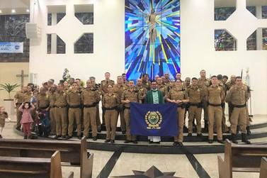 Culto e Missa de Ação de Graças da Polícia Militar.
