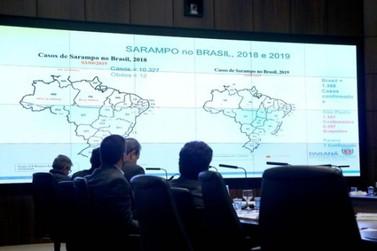 Paraná fortalece cuidados contra sarampo, dengue e febre amarela