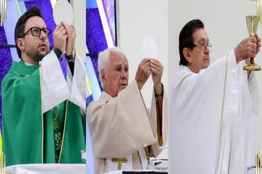#VivaCruzeiro - Freis da Igreja Católica prestam homenagem à Cruzeiro do Oeste