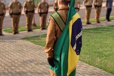 Aspirante a Oficial realiza Compromisso Militar e assume 1° Posto de Tenente