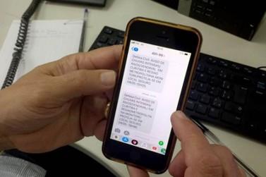 Defesa Civil alerta sobre eventos climáticos com mensagens de celular