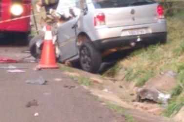 Grave acidente faz mais uma vítima na PR-323