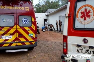 Mulher fica gravemente ferida após ser agredida com golpe de marreta em Umuarama