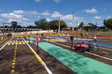 Reinauguração Escola de Trânsito do 7 BPM, por 5 anos parada.