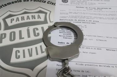Preso suspeito de executar a tiros ex-policial em Altônia