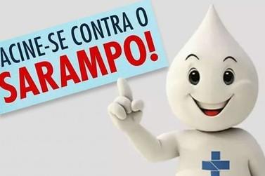Sábado (19) é dia de vacinação contra o Sarampo em Cruzeiro do Oeste