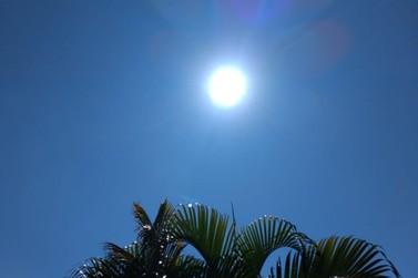 Temperatura chega a 30ºC em Cruzeiro do Oeste nesta quarta-feira (9)