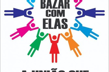Mulheres promovem Bazar recheado de promoções neste Sábado em Cruzeiro do Oeste