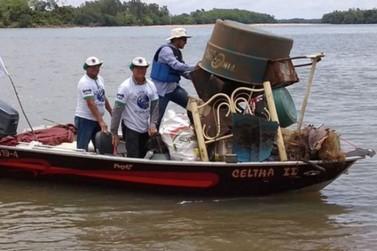 Rally do lixo ocorre neste sábado (9), no Rio Paraná