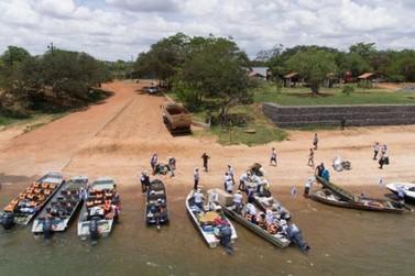 Rally do lixo recolhe quase 5 toneladas de materiais das margens do Rio Paraná