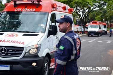 Samu 192 Noroeste recebe 30 novas ambulâncias e renova sua frota