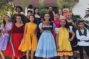 Cia Eskéte apresenta espetáculo hoje na Praça Souza Naves em Cruzeiro do Oeste