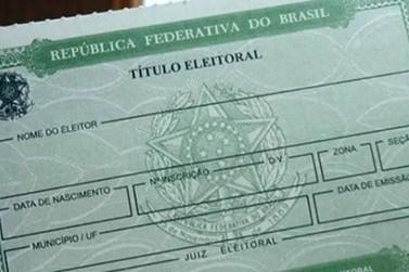 Eleitor tem até maio para regularizar situação do título