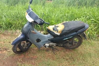 Motociclista fica gravemente ferido após colisão com caminhonete na PR-218