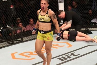 Umuaramense Jessica Andrade mira nova disputa de cinturão do UFC