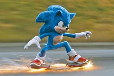 'Sonic - O Filme' estreia nesta quinta-feira no Cine Vip em Umuarama