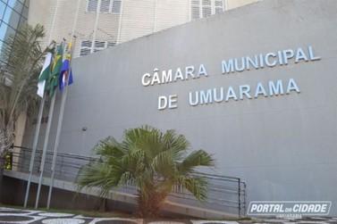 Câmara Municipal de Umuarama passa a realizar sessões sem a presença de público
