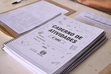 Educação produz material para alunos de Umuarama com atividades não presenciais