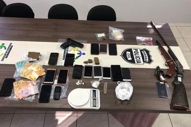 MPPR deflagra megaoperação contra o tráfico de drogas na região de Campo Mourão