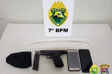 Após tentativas de roubo em Cruzeiro do Oeste, suspeitos são presos pela polícia