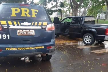 Criminosos rendem casal com dois bebês em Umuarama e levam caminhonete