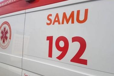 Dois homens ficam feridos em colisão entre carro e caminhão na PR-158