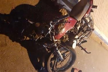 Motociclista fica gravemente ferido em colisão entre carro e moto em Paranavaí