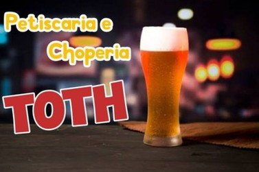 Petiscaria e Choperia Toth conta com promoção de Chopp; Confira