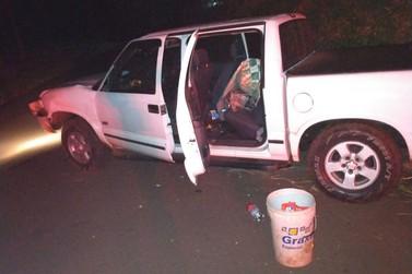 Policiais do 7º BPM prendem autores de furto e recuperam veículo roubado