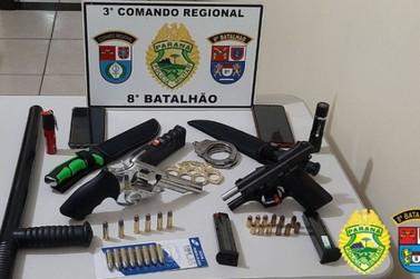 Suspeito de crime passional em Nova Esperança é preso em Atalaia após negociação