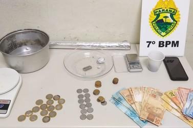 Suspeito por tráfico de drogas é preso em Cruzeiro do Oeste