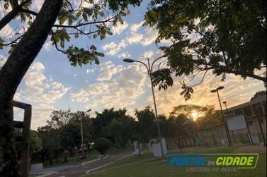 Temperaturas deste final de semana poderão chegar à 34°C em Cruzeiro do Oeste