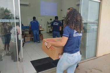 Iniciado o processo de apuração dos votos em Cruzeiro do Oeste
