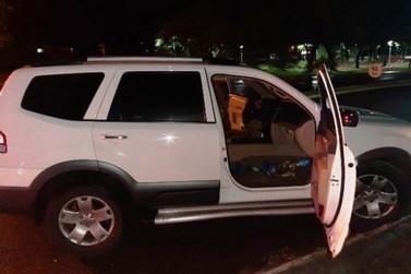 Perseguido por mais de 60 km, motorista abandona carro e foge em Moreira Sales