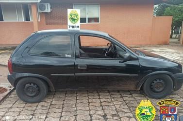 Veículo com alerta de furto e roubo é identificado; autor do crime foi preso
