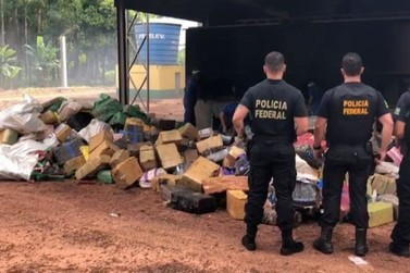 Aproximadamente 10 toneladas de drogas apreendidas na região são incineradas