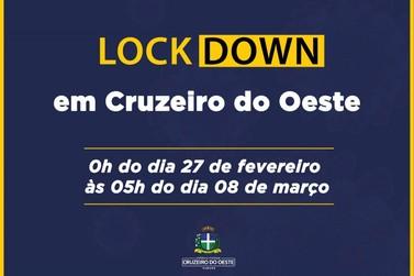 Prefeitura anuncia fechamento de atividades não essenciais em Cruzeiro do Oeste