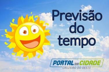 Previsão do tempo diária de Cruzeiro do Oeste