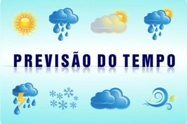 Previsão do tempo para esta segunda-feira em Cruzeiro do Oeste