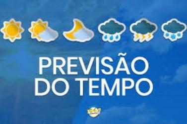 Previsão do tempo para este final de semana em Cruzeiro do Oeste