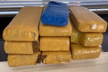 BPRv apreende maconha e cocaína durante fiscalizações em Cruzeiro do Oeste